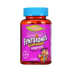 Polivitamínico (Multivitamínico) para Crianças, Flintstones, Bayer, 60 Gummies