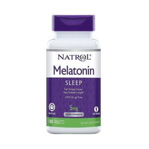 Melatonian, 5mg, Efeito Prolongado, Natrol