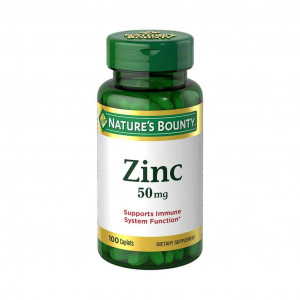 Zinco, 50mg, Nature's Bounty, 100 Cps