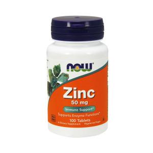 Zinco, 50mg, Now Foods, 100 Tbs